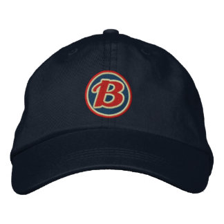 B Hat Embroidered Baseball Caps