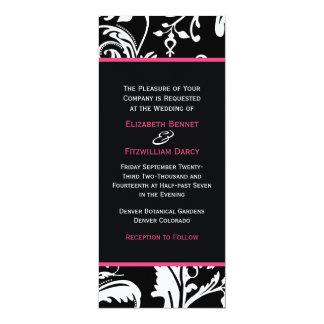 B&HP Contemporary Skinny Invitation