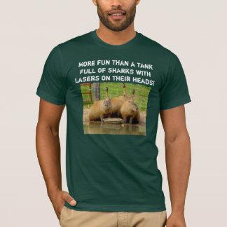 B - Humorous Capybara T-Shirt 2