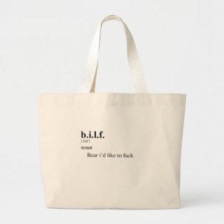B.I.L.F. TOTE BAGS