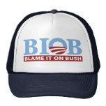 B.I.O.B. Blame It On Bush Mesh Hat