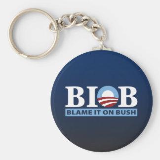 B.I.O.B. Cúlpelo en Bush Llavero
