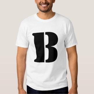 B inicial polera
