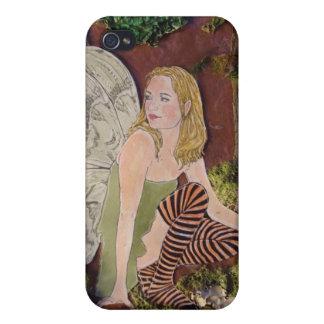 """B iPhone 4 Case """"Woodland Elf"""""""
