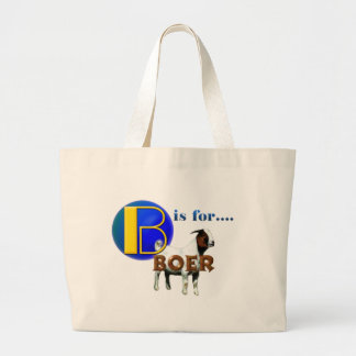 B is Fo rBOER - GOAT GIFTS Canvas Bags