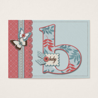 B is for Baby Reminder Card