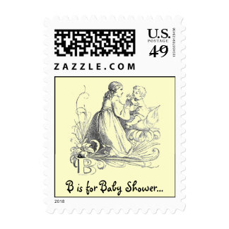 B is for Baby Shower... Postage