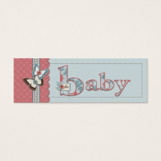 B is for Baby Skinny Gift Tag