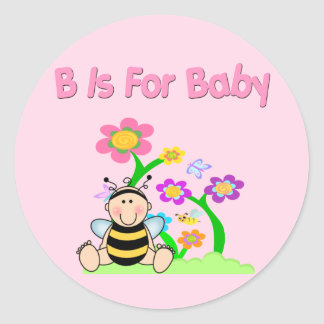 B is For Baby Stickers