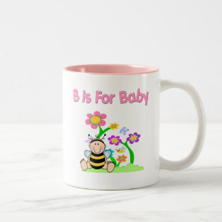 B is For Baby Two-Tone Coffee Mug