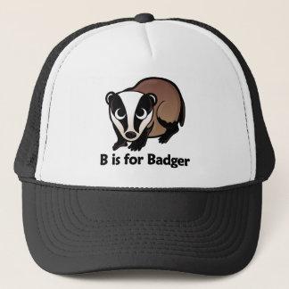 B is for Badger Trucker Hat