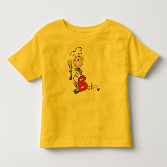 B is for Baker Toddler T-shirt