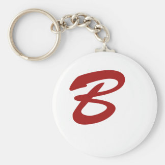 B is For Baller! Keychain