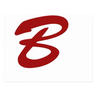 B is For Baller! Postcard