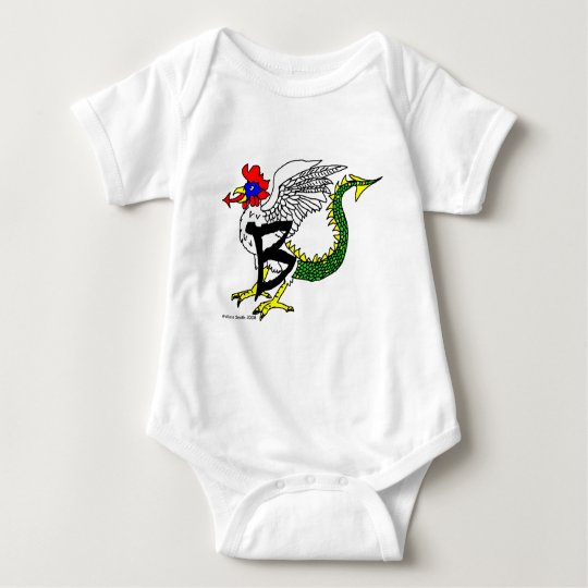 B is for Basilisk Baby Bodysuit
