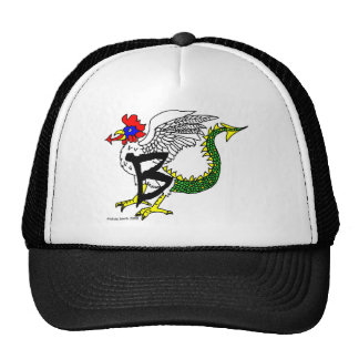 B is for Basilisk Mesh Hat