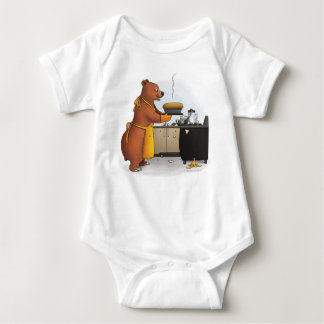 B is for Bear and Banana Bread Baby Bodysuit