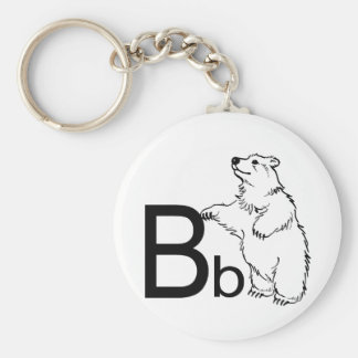 B is for Bear Key Chains