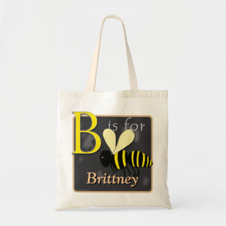 B Is For Bee B Is For Brittney Tote Bag