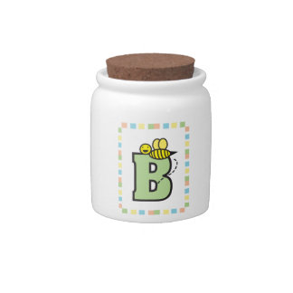 B is for Bee Candy Jar