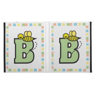 B is for Bee Caseable Case iPad Folio Covers