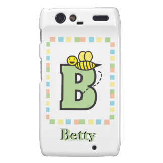 B is for Bee Customizable Droid RAZR Case