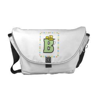 B is for Bee Rickshaw Messenger Bag