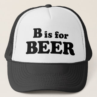 B is for BEER Trucker Hat