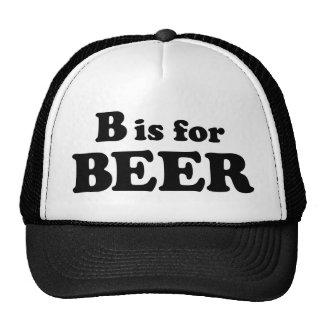 B is for BEER Trucker Hat