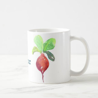 B is for Beet Coffee Mug