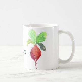 B is for Beet Coffee Mug