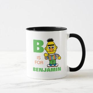 B is for Bert | Add Your Name Mug