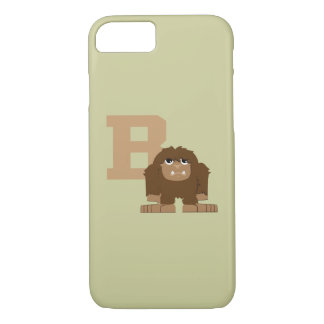 B is for Bigfoot iPhone 7 Case