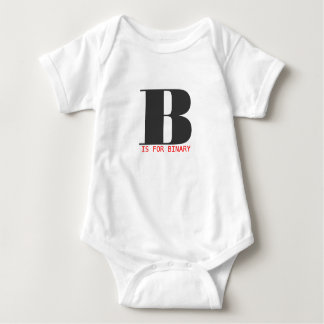 B is for binary baby bodysuit