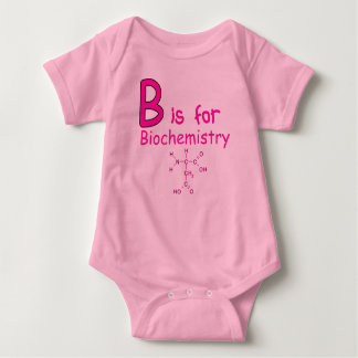B is for Biochemistry Baby Bodysuit