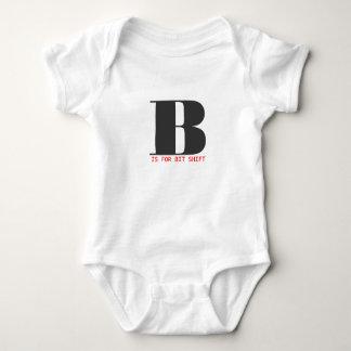 B is for bit shift baby bodysuit