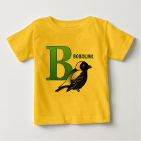 B is for Bobolink Baby Fine Jersey T-Shirt