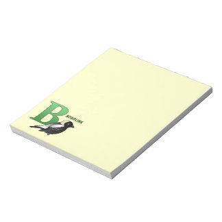B is for Bobolink Memo Notepads