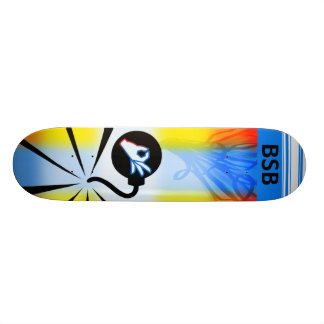 B is for Bombs Skateboard Deck