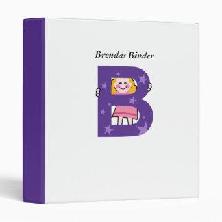 B is for...., Brendas Binder