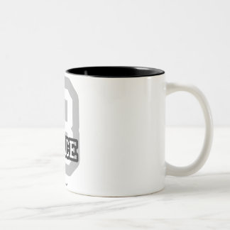 B is for Brice Two-Tone Coffee Mug