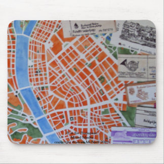 B is for Budapest mousemat Mouse Pad