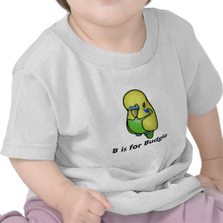 B is for Budgie Shirts