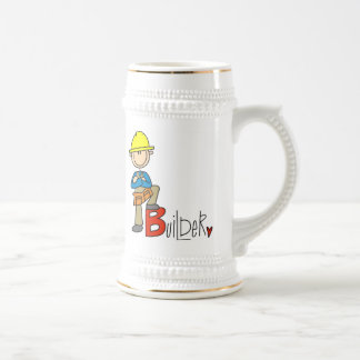 B is for Builder Beer Stein