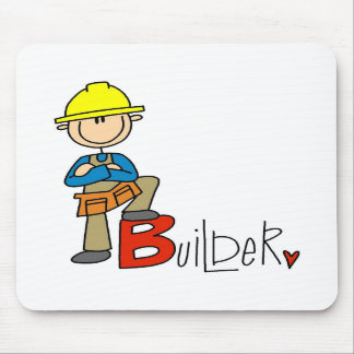 B is for Builder Mouse Pad