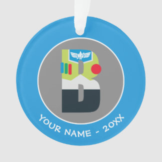 B is for Buzz | Add Your Name Ornament