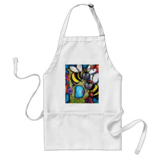 B is for Buzzing Bees Adult Apron