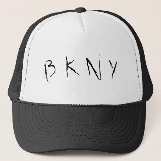 B K N Y TRUCKER HAT