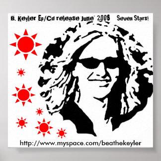 """B. Keyler poster de """"siete estrellas"""" - C… - Modif"""