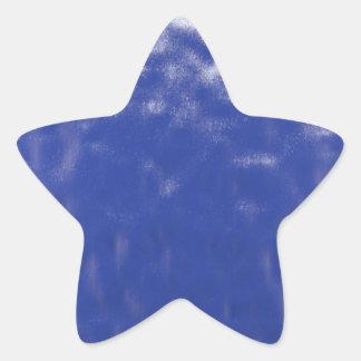 B l u e D e e p Star Sticker